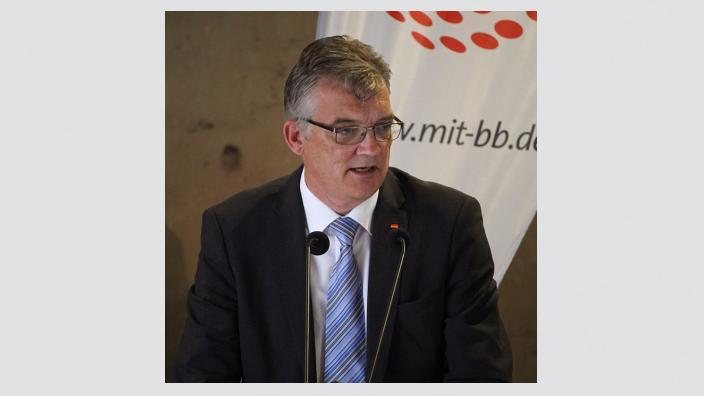Uwe Feiler MdB, einstimmig wiedergewählter MIT-Landesvorsitzender
