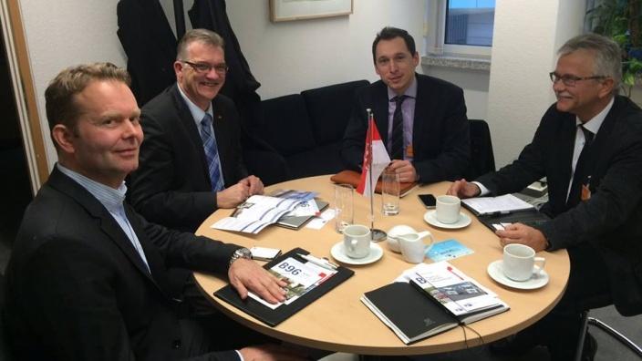 Infrastruktur-Gespräch mit Vertretern der IHK-Potsdam